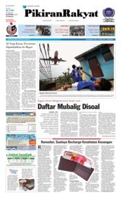 Cover Pikiran Rakyat 21 Mei 2018