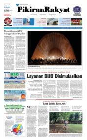 Cover Pikiran Rakyat 22 Mei 2018