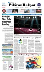 Cover Pikiran Rakyat 23 Mei 2018