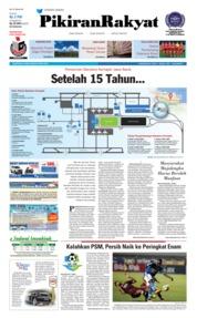 Cover Pikiran Rakyat 24 Mei 2018