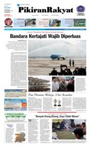 Cover Pikiran Rakyat 25 Mei 2018