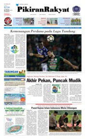 Cover Pikiran Rakyat 06 Juni 2018