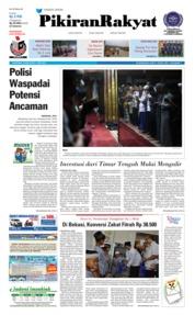 Cover Pikiran Rakyat 07 Juni 2018