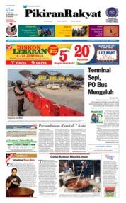 Cover Pikiran Rakyat 09 Juni 2018