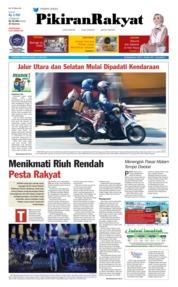 Cover Pikiran Rakyat 10 Juni 2018