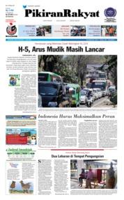 Cover Pikiran Rakyat 11 Juni 2018