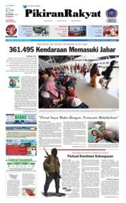 Cover Pikiran Rakyat 12 Juni 2018