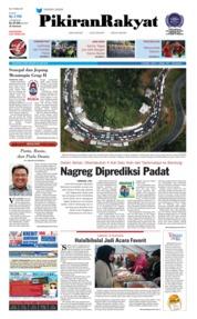 Cover Pikiran Rakyat 20 Juni 2018