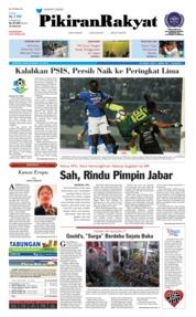 Cover Pikiran Rakyat 09 Juli 2018