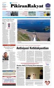 Cover Pikiran Rakyat 10 Juli 2018