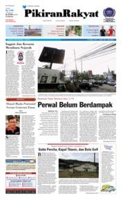 Cover Pikiran Rakyat 11 Juli 2018