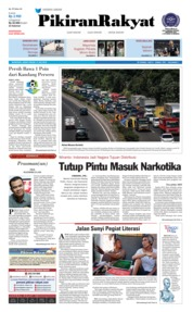 Cover Pikiran Rakyat 13 Juli 2018