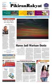 Cover Pikiran Rakyat 14 Juli 2018