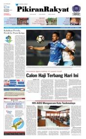 Cover Pikiran Rakyat 17 Juli 2018