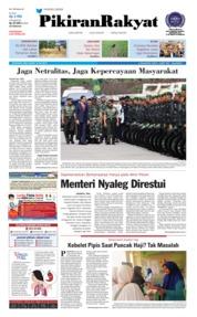 Cover Pikiran Rakyat 18 Juli 2018
