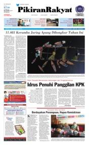 Cover Pikiran Rakyat 20 Juli 2018