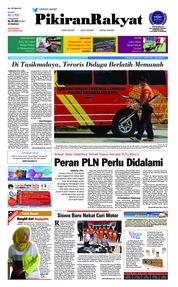 Cover Pikiran Rakyat 21 Juli 2018