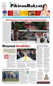 Cover Pikiran Rakyat 22 Juli 2018