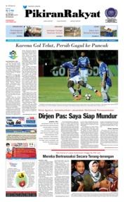 Cover Pikiran Rakyat 23 Juli 2018