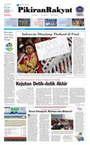 Cover Pikiran Rakyat 10 Agustus 2018