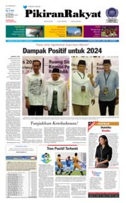 Cover Pikiran Rakyat 11 Agustus 2018