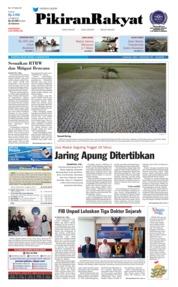 Cover Pikiran Rakyat 14 Agustus 2018