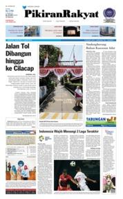 Cover Pikiran Rakyat 16 Agustus 2018