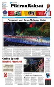 Cover Pikiran Rakyat 19 Agustus 2018