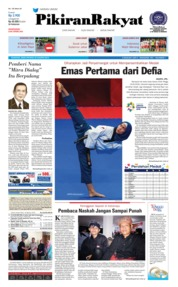 Pikiran Rakyat Cover 20 August 2018