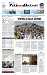 Cover Pikiran Rakyat 21 Agustus 2018