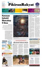 Cover Pikiran Rakyat 15 September 2018