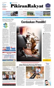 Cover Pikiran Rakyat 17 September 2018
