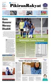 Cover Pikiran Rakyat 18 September 2018