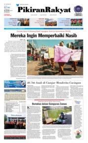 Cover Pikiran Rakyat 19 September 2018