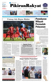 Cover Pikiran Rakyat 24 September 2018