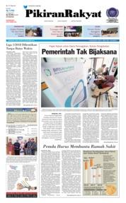 Cover Pikiran Rakyat 26 September 2018