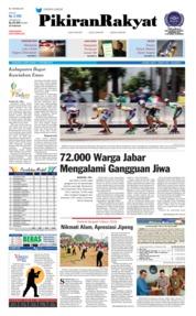 Cover Pikiran Rakyat 11 Oktober 2018