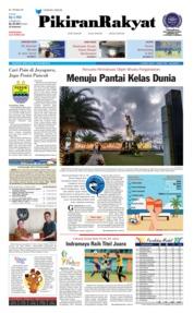 Cover Pikiran Rakyat 15 Oktober 2018