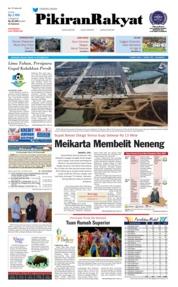Cover Pikiran Rakyat 16 Oktober 2018