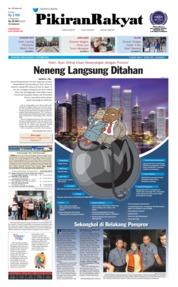 Cover Pikiran Rakyat 17 Oktober 2018