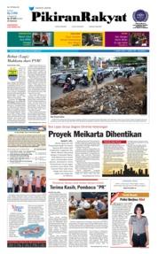 Cover Pikiran Rakyat 20 Oktober 2018