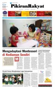 Cover Pikiran Rakyat 21 Oktober 2018