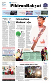 Cover Pikiran Rakyat 22 Oktober 2018