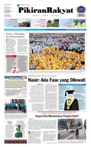 Cover Pikiran Rakyat 23 Oktober 2018