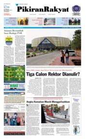 Cover Pikiran Rakyat 24 Oktober 2018