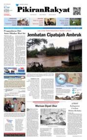 Cover Pikiran Rakyat 07 November 2018