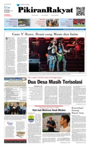 Cover Pikiran Rakyat 09 November 2018