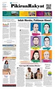 Cover Pikiran Rakyat 10 November 2018