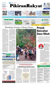 Cover Pikiran Rakyat 12 November 2018