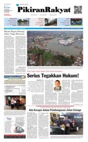 Cover Pikiran Rakyat 13 November 2018